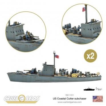 Cruel Seas: US Navy - US Coastal Cutter Subchaser