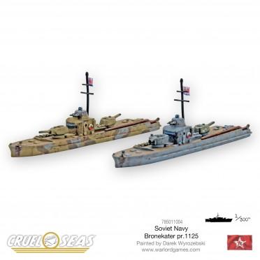 Cruel Seas: Soviet - Bronekater pr.1125