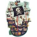 Puzzle Geant: Le Bateau des Pirates – 36 Pièces 1