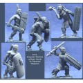 Iroquoian Warriors with Open Hands for Separate Weapons 0