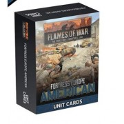 Flames of War - Fortress Europe American Unit cards