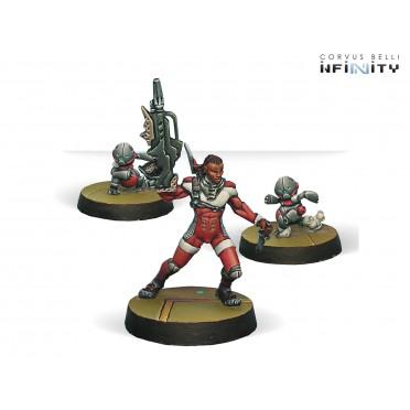 Infinity - Nomads - Moran Maasai Hunter (Combi Rifle, CrazyKoalas)