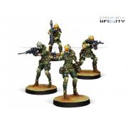 Infinity - Mercenaries - Brawlers, Mercenary Enforcers
