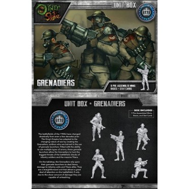 The Other Side - King's Empire Unit Box - Grenadiers