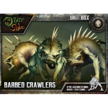 The Other Side - Gibbering Hordes Unit Box - Barbed Crawlers