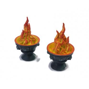 Ziterdes: Fire bowl (2 pcs.)