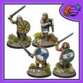 Shieldmaiden Warriors with Swords 0