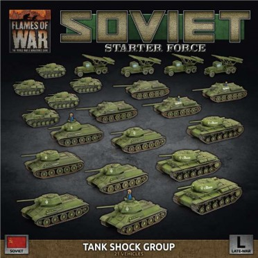 "Soviet Late War  ""Tank Shock Group"" Army Deal"