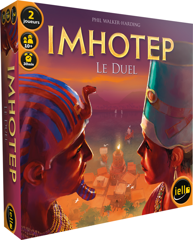 Acheter Imhotep - Le Duel - Jeux de figurines - Iello