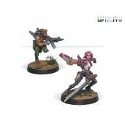 Infinity - Mercenaries - Yuan Yuan (Rifle, Chain Rifle)