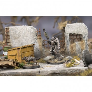 Fallout: Wasteland Warfare - X-01 Survivor & Dogmeat