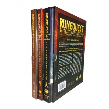 RuneQuest - Glorantha Deluxe Slipcase Set