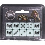 A Song of Ice and Fire - House Stark Dice