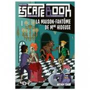 Escape Book Junior - La maison-fantôme de Mme Hideuse