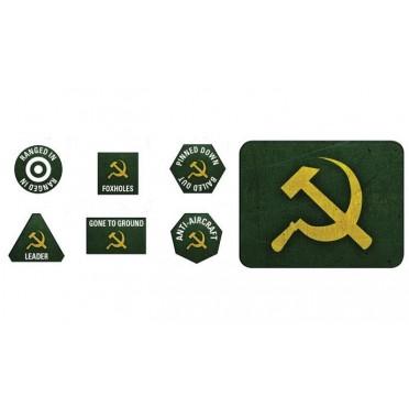 Soviet Late War Tokens & Objectives