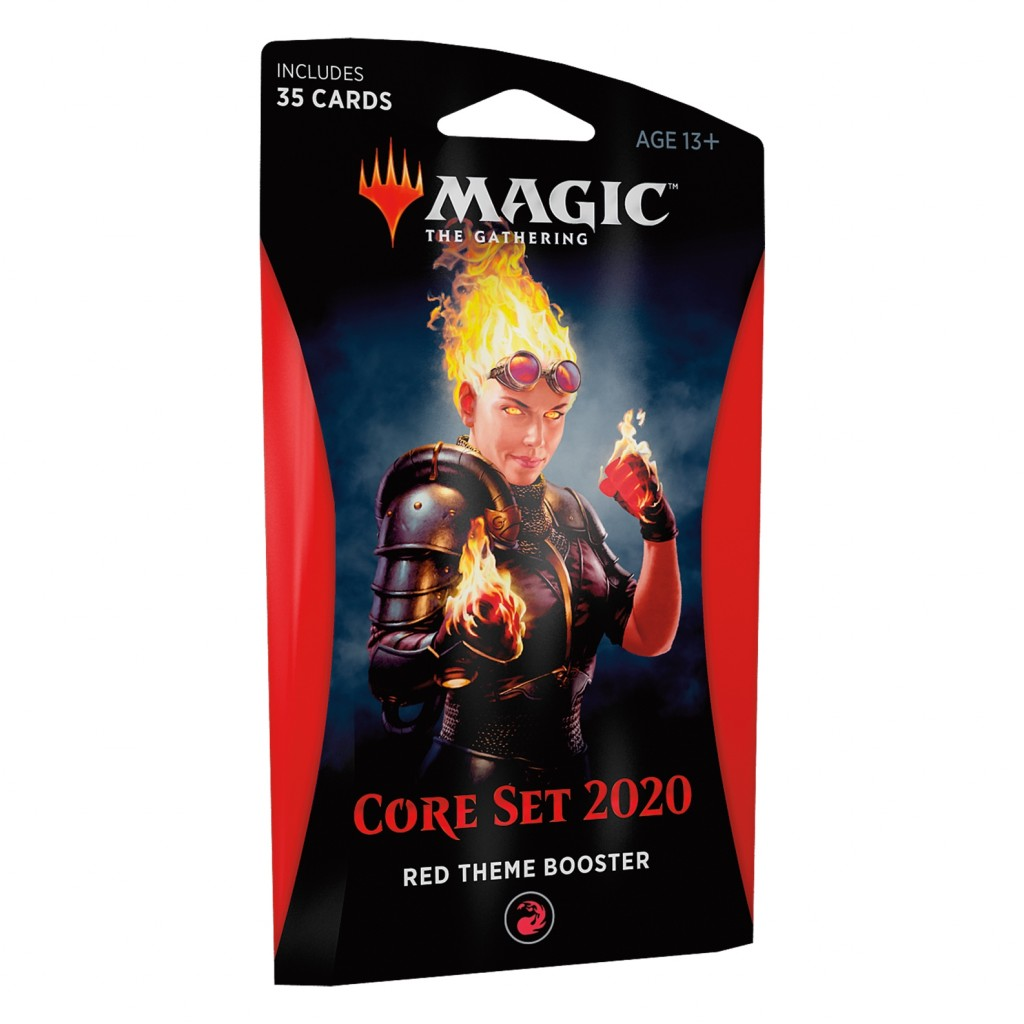 Buy Magic The Gathering Core Set 2020 Red Theme Booster