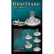 Wyrdscape Bases - 5x Sewer 30mm