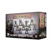 Necromunda : Gang - Palanite Enforcer Patrol