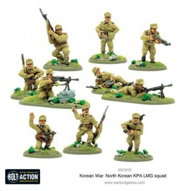 Buy Bolt Action: Korean War - North Korean KPA LMG Squad - Board Game -  Warlord Games
