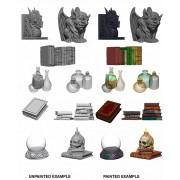 Wizkids Deep Cuts Unpainted Miniatures : Wizard's Room