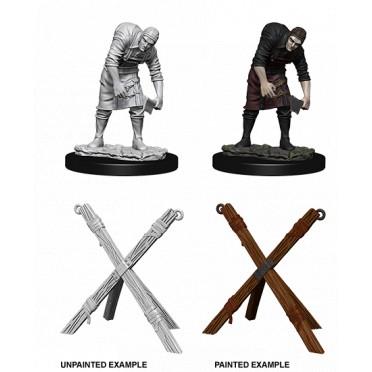 WizKids Deep Cuts Unpainted Miniatures: Assistant & Torture Cross