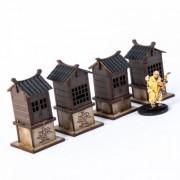 Roadside Shrines x4