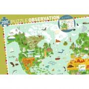 Puzzle Observation - Monuments du monde - 200 pièces