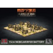 Flames of War -  15cm Rocket Launcher Battery