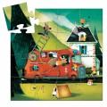 Puzzle Silhouette - Le Camion de Pompier 1