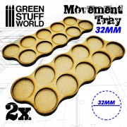 MDF Movement Trays 10 x 32mm