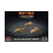 Flames of War - SdKfz 250 Scout Troup