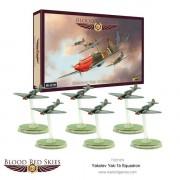 Blood Red Skies - Soviet- Yakolev Yak-1B Squadron, 6 Planes