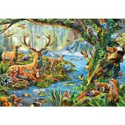 Micro Puzzle – Forest Life – 40 Pièces