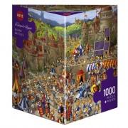 Puzzle - Bunny Battles de François Ruyer – 1000 Pièces
