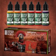 Red Paint Set