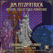 Jim Fitzpatrick Official Collectible Miniature: Conann of the Fianna