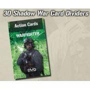 Warfighter Modern - Shadow War Card - 35 Dividers Expansion