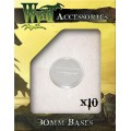 Wyrdscape Bases - 10x Clear Bases 30mm 0