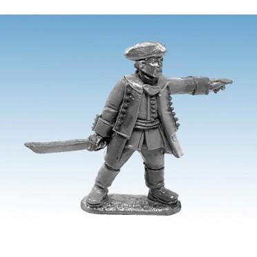 Mousquets & Tomahawks : Officier Régulier Britannique