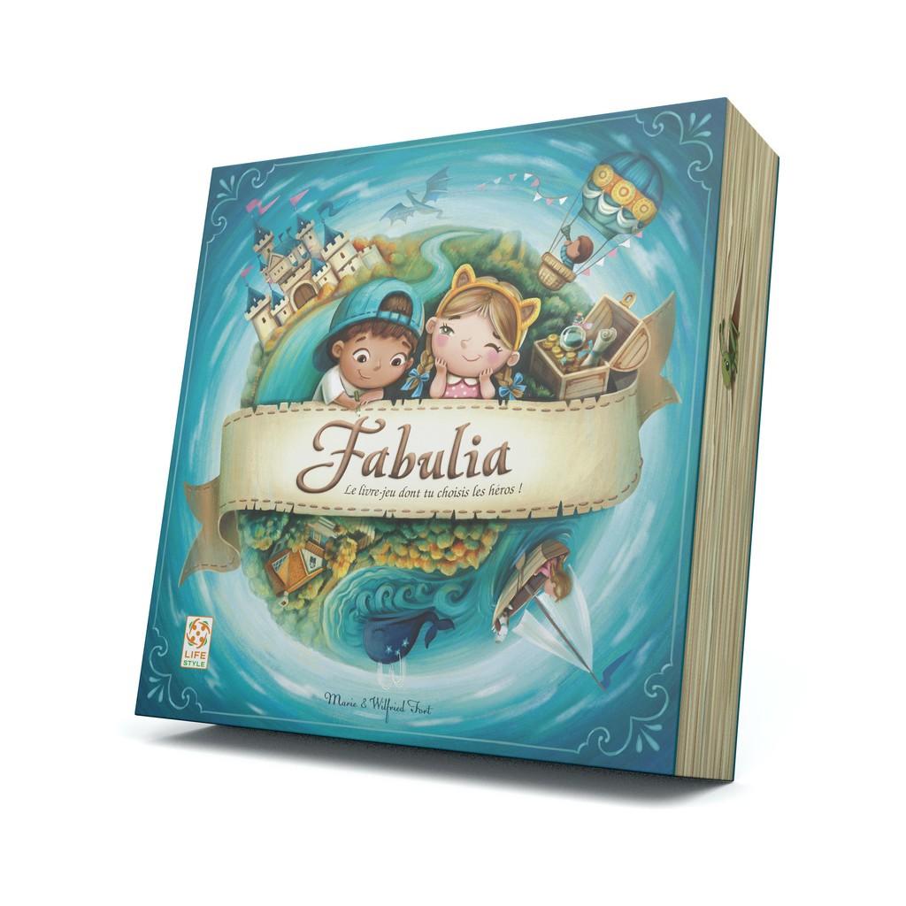 Fabulia : Le livre-jeu dont tu choisis les héros !   Wilfried et Marie Fort. Auteur
