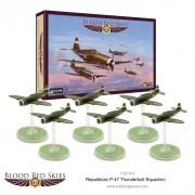 Blood Red Skies: Republic P-47 Thunderbolt Squadron, 6 planes