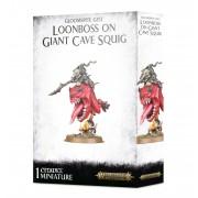 Age of Sigmar : Gloomspite Gitz - Loonboss on Giant Cave Squig