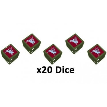 Flames of War - 6th Airborne Division Dice Set