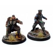 Fallout: Wasteland Warfare - Brotherhood of Steel: Elder Maxon & Captain Kells