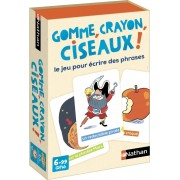 Gomme, Crayon, Ciseaux !