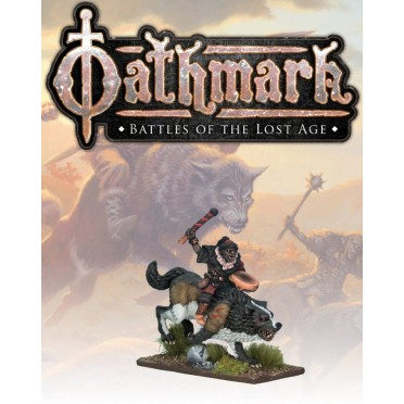Oathmark: Goblin Wolf Rider Musician