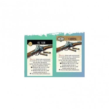 Western Legends : The Carbine Cards