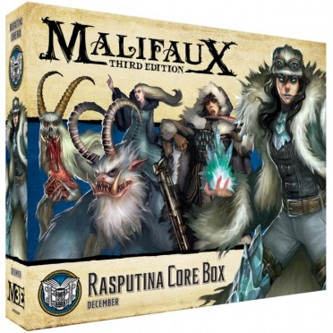 Malifaux - the Arcanists - Rasputina Core Box