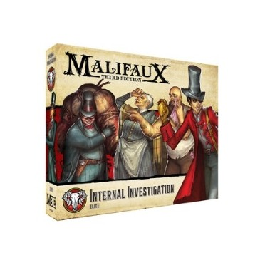 Malifaux - the Guild - Internal Investigation