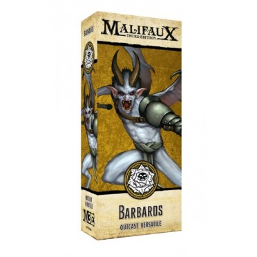 Malifaux - the Outcasts - Barbaros